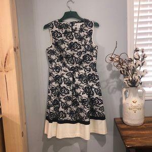 Liz Claiborne retro dress